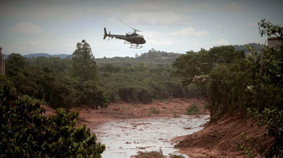 Смразяващи кадри: Как токсичната кал в Бразилия унищожава всичко по пътя...