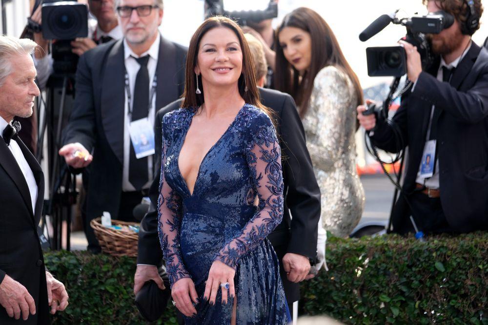 Семейство Дъглас зашеметяващо на наградите на Гилдията на филмовите актьори