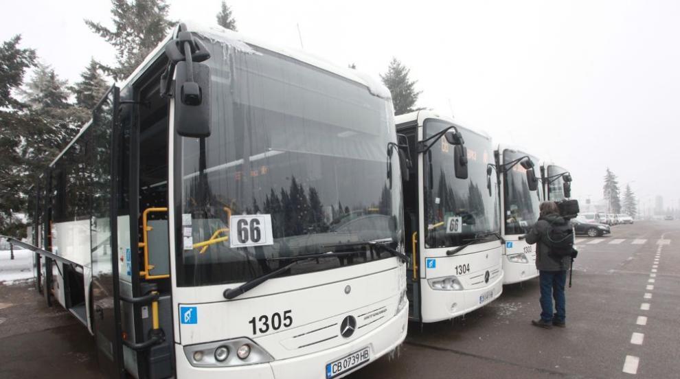 Градският транспорт тръгва отново към Витоша на 1 юни