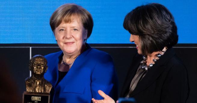 Германската канцлерка Ангела Меркел подчерта необходимостта от борба срещу възхода