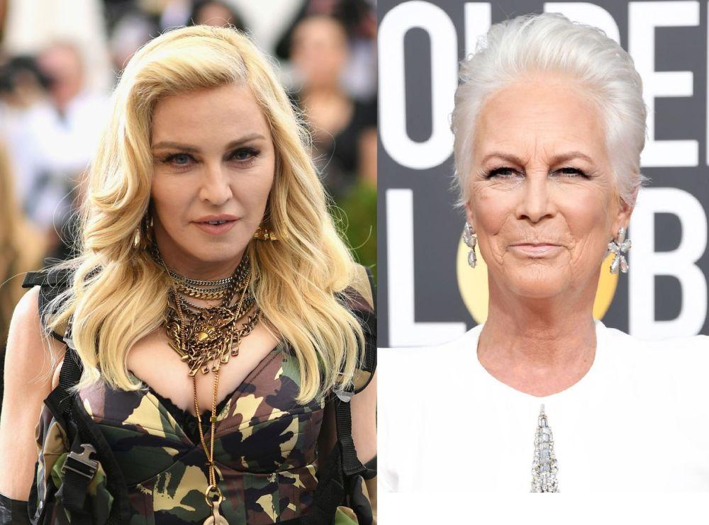 Времето, начинът на живот, географската ширина и генетичната предопределеност се отразяват върху външния вид. Събрахме примери със звезди, за които няма да повярвате, че са набори. Като Мадона и Джейми Лий Къртис, които са родени през 1958 г.
