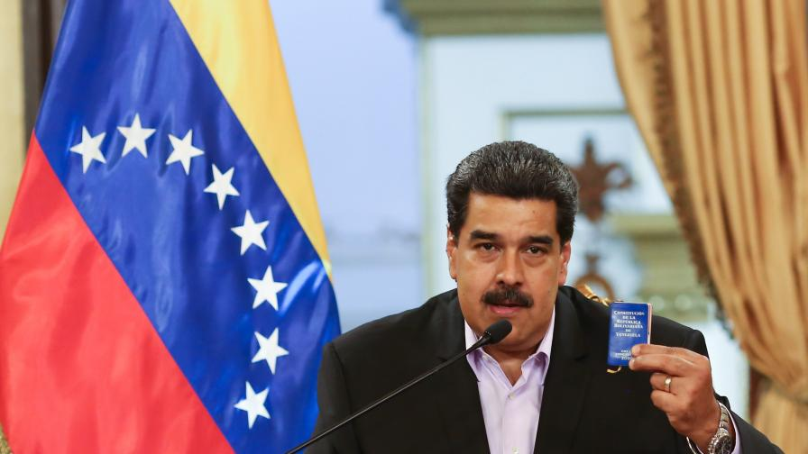 <p>Мадуро предупреди: Белият дом&nbsp;ще бъде &quot;опетнен с кръв&quot;&nbsp; &nbsp;&nbsp;</p>