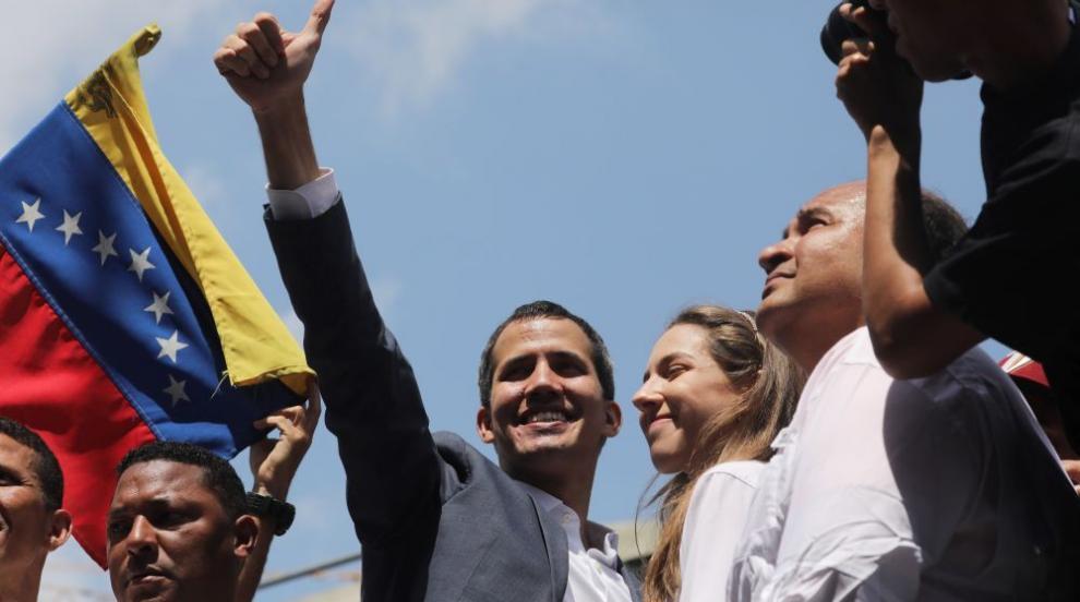 "Хуан Гуайдо призова венецуелците за операция ""Свобода"""