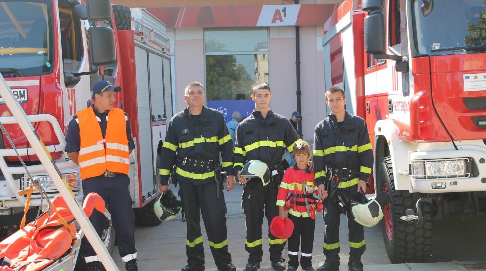 Седмица на пожарната безопасност в Кюстендил