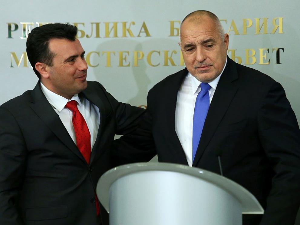 Атака срещу Зоран Заев дойде и от Белград за желанието му да разреши историческите проблеми с България, както направи преди това с друга своя съседка - Гърция