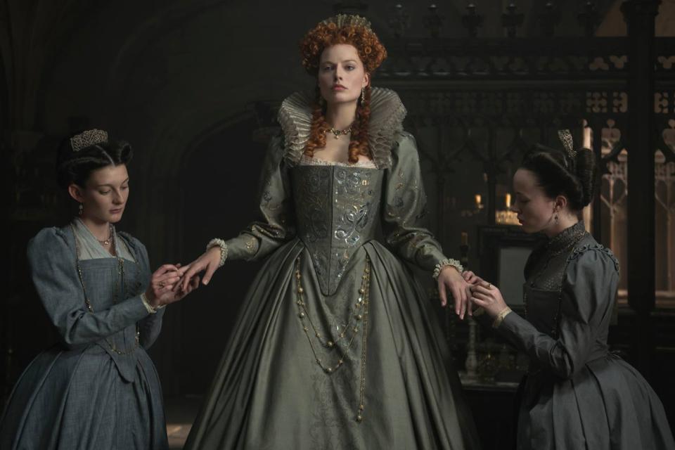 кралицата на шотландия
