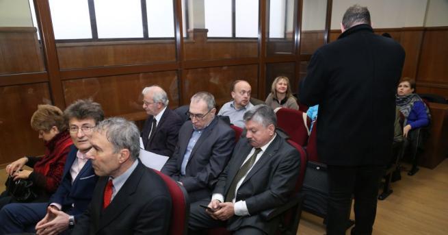 Снимка: Съдебно заседание по делото за източването на КТБ