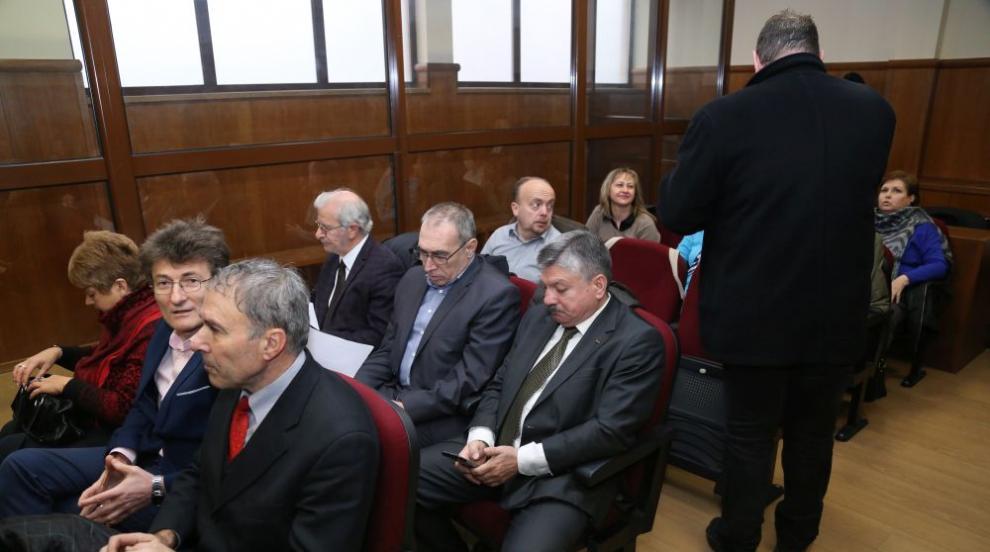 Съдебно заседание по делото за източването на КТБ