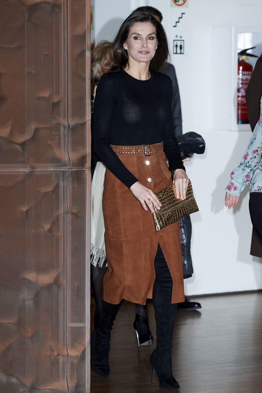 Испанската кралица с първи моден гаф
