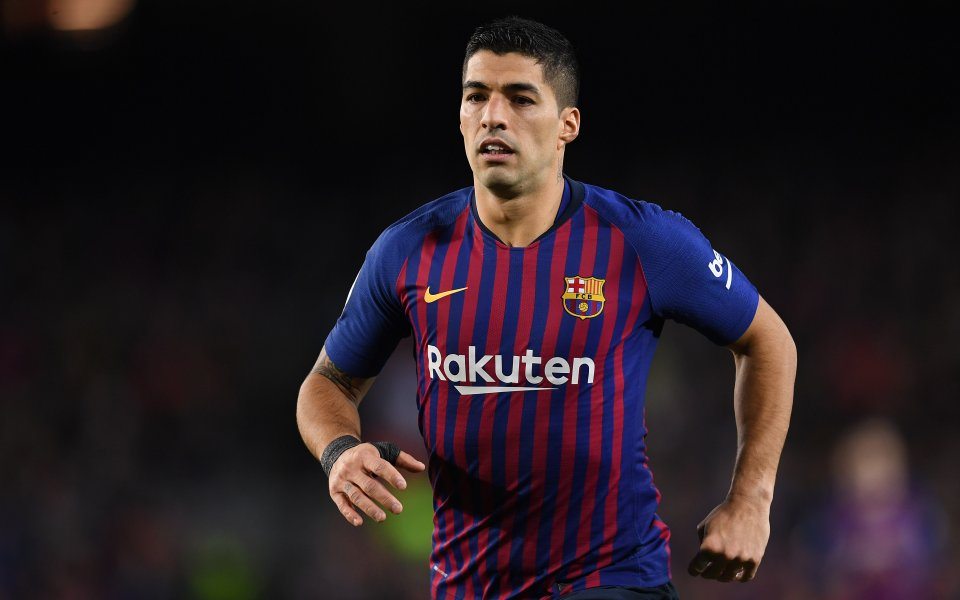 Нападателят на Барселона и уругвайския национален отбор Луис Суарес е