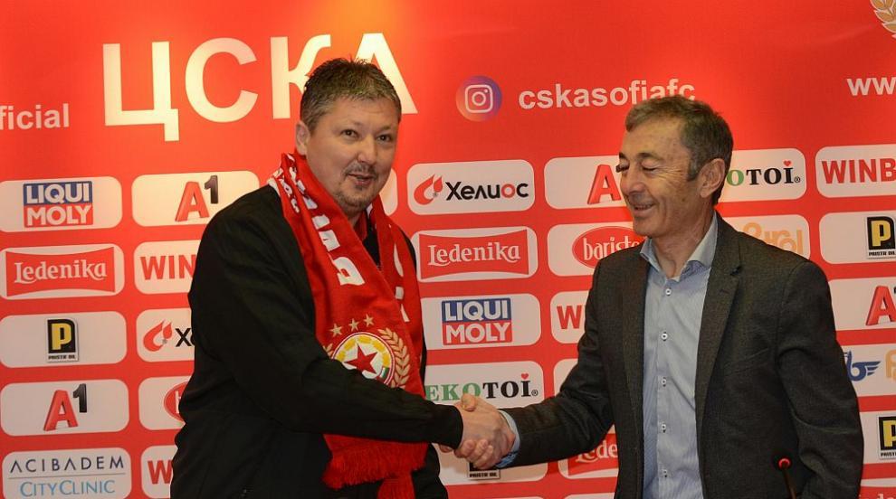 Любо Пенев официално се завърна в ЦСКА: Няма да карам никой насила да играе...