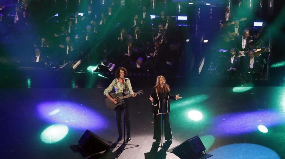 Мота и Нада спечелиха наградата за най-добър дует на Фестивала в Сан Ремо
