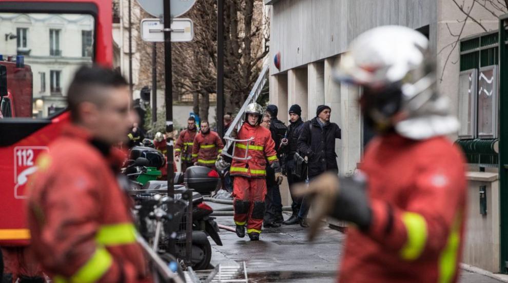 Повдигнаха обвинения на жената, предизвикала пожара в Париж