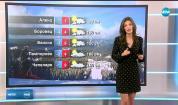 Прогноза за времето (09.02.2019 - централна емисия)