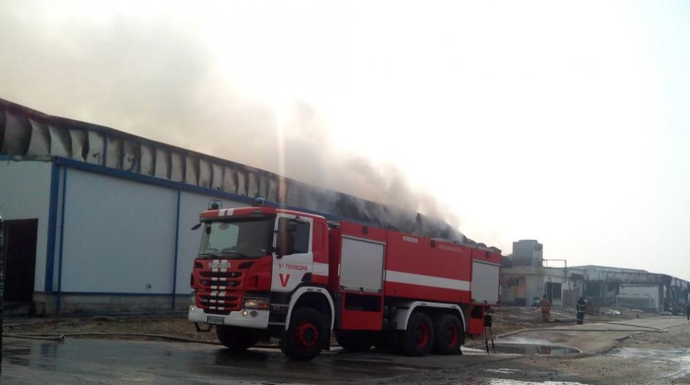 Работниците от изгорелия цех във Войводиново отиват на борсата