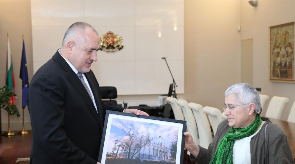 Премиерът Борисов се срещна с архитектката, работила по възстановяването...