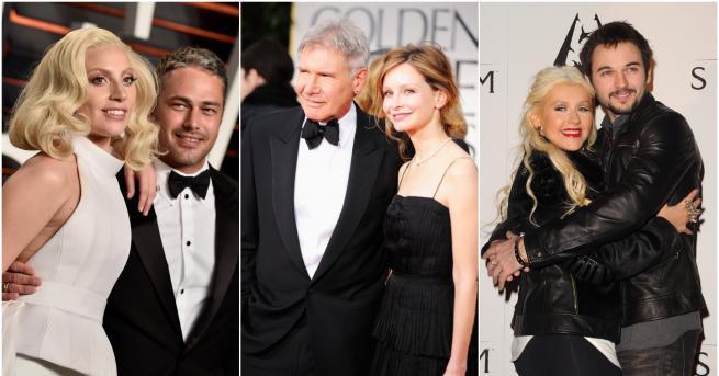 Снимка: 9  холивудски двойки, за които Свети Валентин е по-специален