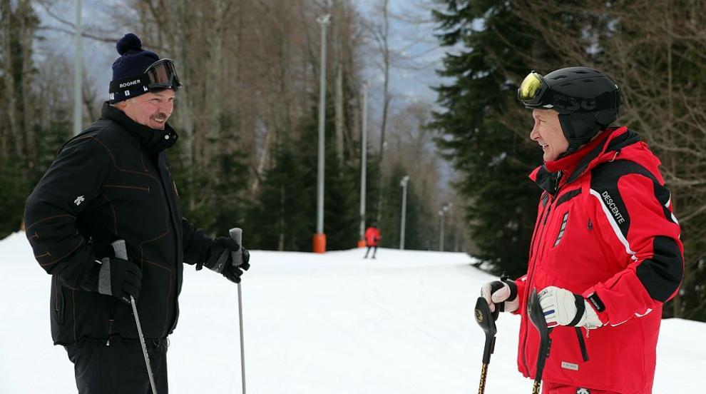 Важни разговори между Путин и Лукашенко на ...ски (СНИМКИ)