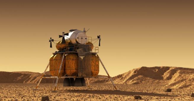 """""""InSight"""", роботизирана сонда за изследване на Марс, която задълбочено изучава"""