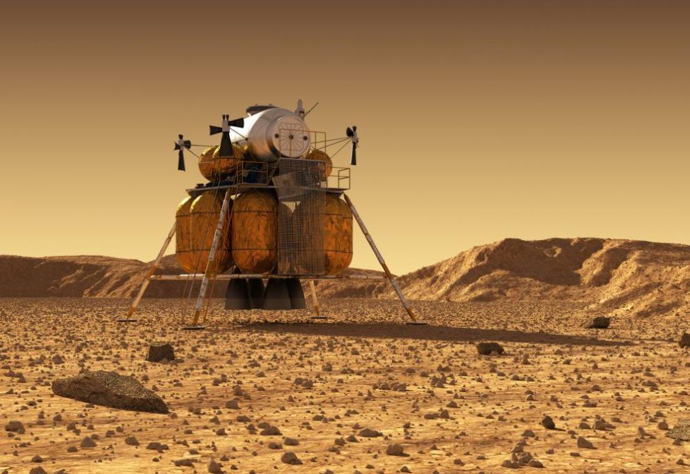 марс космос