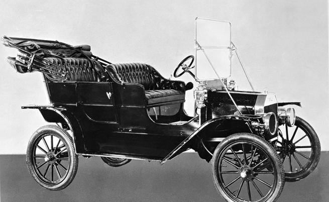 Оригиналната версия на Model T от 1908 г.