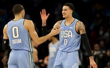 САЩ победи отбора на Света в Мача на изгряващите звезди в НБА