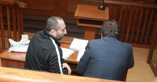 Магистрати разпитаха чрез видеоконферентен разговор от софийския затвор Димитър Желязков-Очите