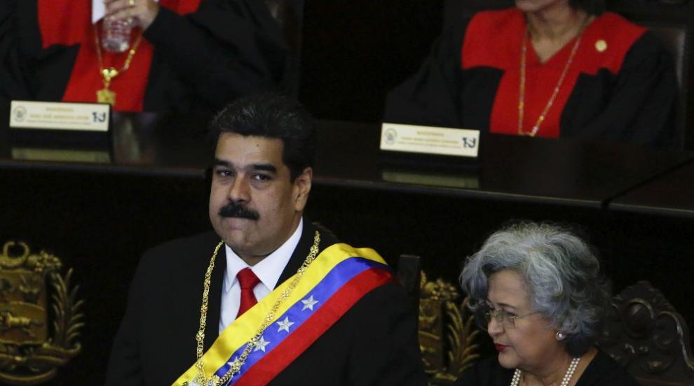 """Николас Мадуро определи речта на Тръмп за Венецуела като """"почти в..."""