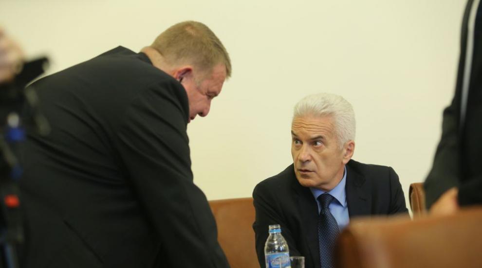 Сидеров, Каракачанов и Цветанов: Продължаваме с управленската програма