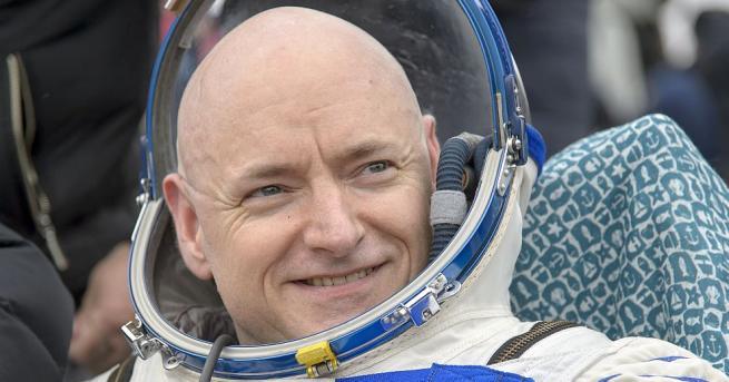 Едногодишният престой в космоса на Скот Кели е активирал прекомерно