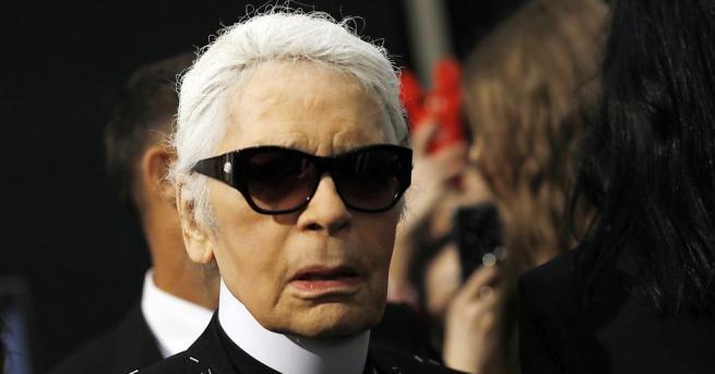 Снимка: Посочиха причината за смъртта на модната икона Карл Лагерфелд