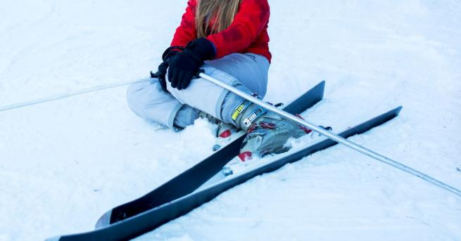 Снимка: 10-годишно момиче пострада на пистите в Пампорово