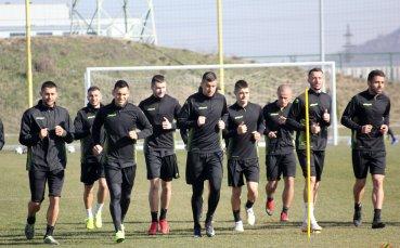 Групата на Ботев Пловдив за мача с Верея