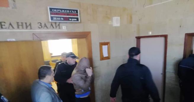 Снимка: Обвиненият за убийството в Кюстендил: Съжалявам, не знаех, че така ще стане