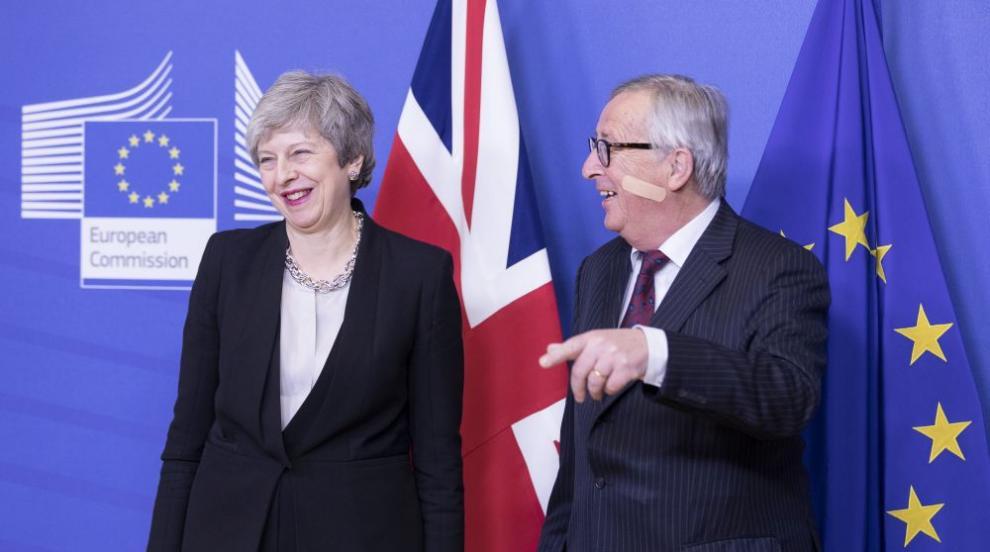 Жан-Клод Юнкер се пошегува с напрежението около Брекзит (СНИМКИ)
