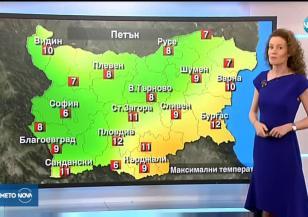 Прогноза за времето (21.02.2019 - централна емисия)