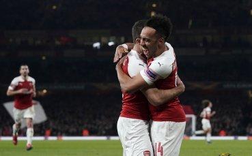 Арсенал показа класа и отвя БАТЕ в Лига Европа