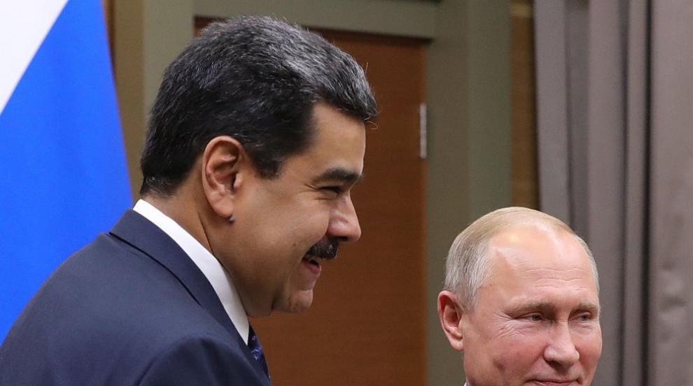 """Мадуро е в """"постоянен контакт"""" по телефона с Путин"""