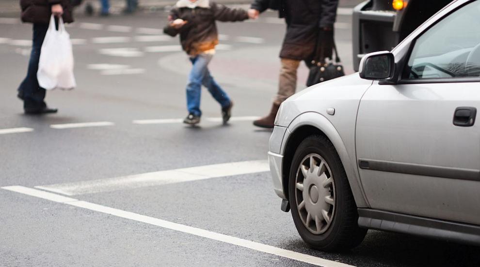 Хиляди пешеходци в нарушения на пътя (ВИДЕО)