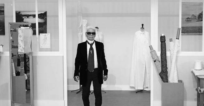 Съобразно волята на световната звезда на висшата мода Карл Лагерфелд,