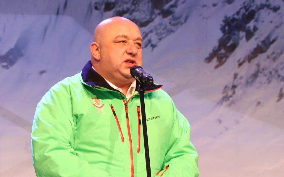 Влади Илиев с официален поздрав и от министър Кралев