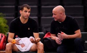 Гришо пак тренира с Агаси, иска подкрепа за ATP Cup