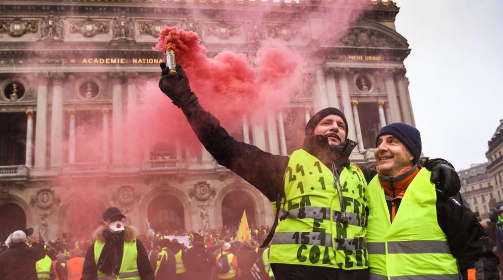 """Френските """"жълти жилетки"""" излизат на нов протест"""