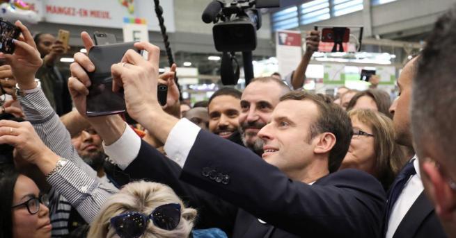 Френският президент Еманюел Макрон призна в интервю за американското сп.
