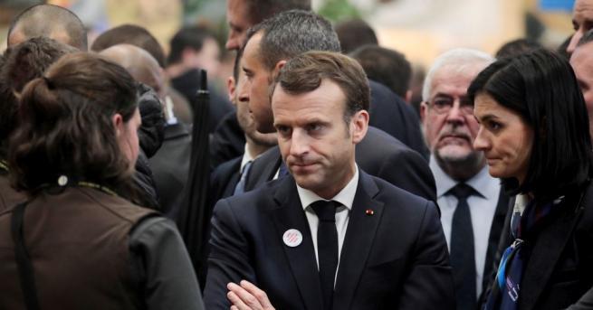 Президентът на Франция Еманюел Макрон прикани за