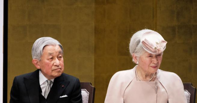 Императорът на Япония Акихито започна днес поредицата церемонии, свързани с