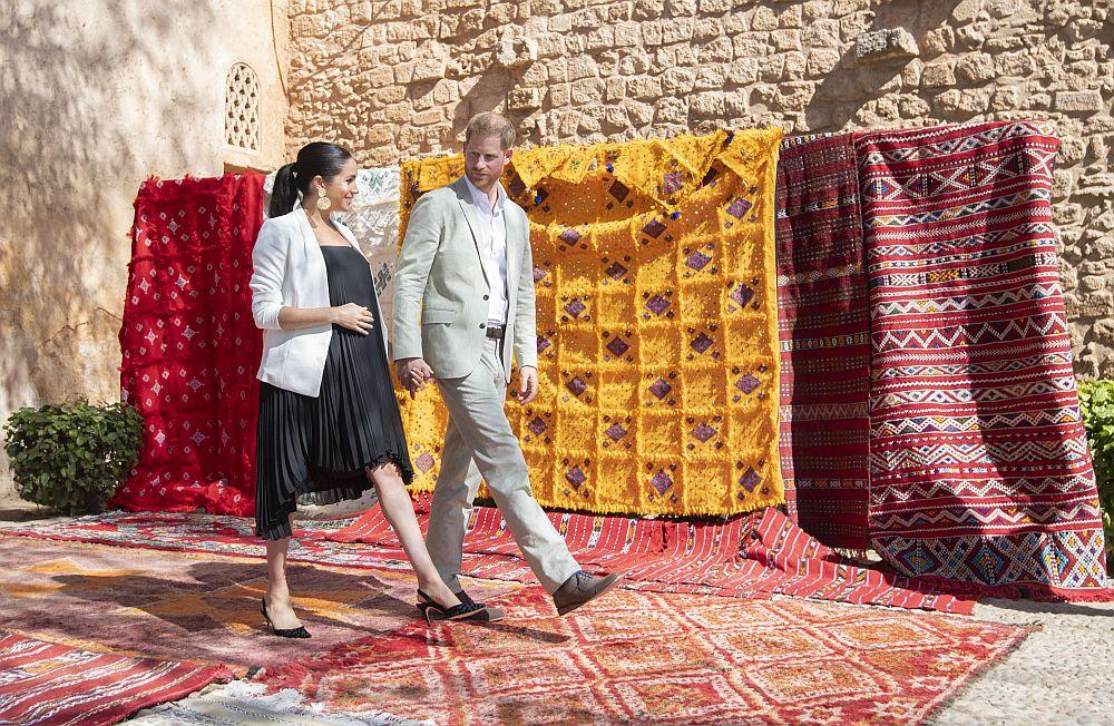 Херцозите на Съсекс принц Хари и съпругата му Меган