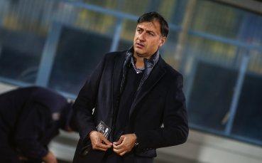 Арангелов: Показахме, че се стремим към бърз и динамичен футбол