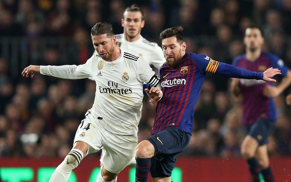 Мачът от 10-ия кръг на Ла Лига между Барселона и