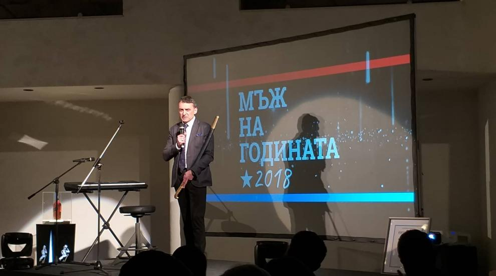 Проф. д-р Иво Петров е Мъж на годината за 2018 година